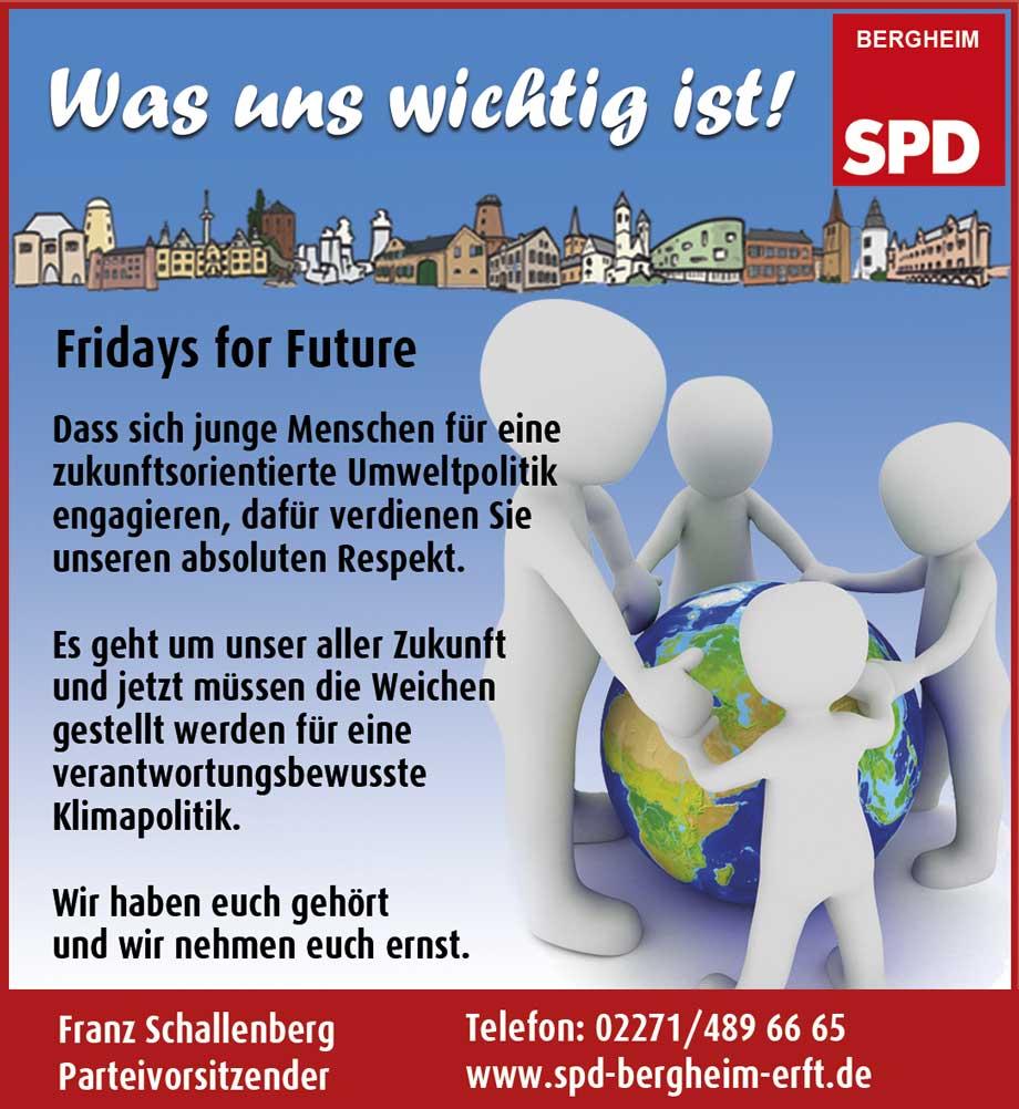 Fridays for Future - Menschen halten sich die Hände und in ihrer Mitte ist die Erde